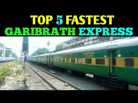 Top 5 Fastest Garibrath Express | Full Information | Indian Railways !!!