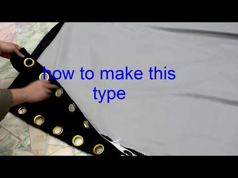 how to make swags and tails curtains(make gold type for curtains )