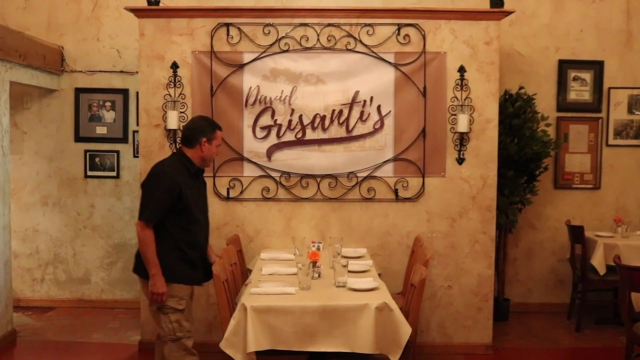 David Grisanti's Italian Restaurant commercial