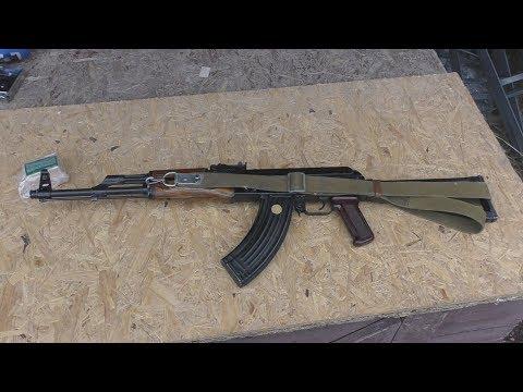 видео: Обзор и стрельба из охотничьего карабина МКМ-072Сб АКМ 1963 / mkm-072sb carbine.review and shooting/