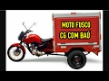 Moto fusco triciclo  CG com Baú _ Nicael 150