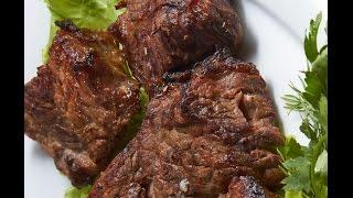 Как замариновать шашлык из говядины. Шашлык из говядины. Лучший маринад!