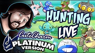 HamsterBomb LIVE Pokemon Cute Charm Shiny Hunting!