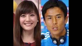 サッカー日本代表MF長谷部誠(32)=フランクフルト=が、交際中の...