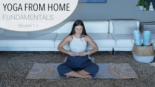 Session 1.1 - Yoga From Home