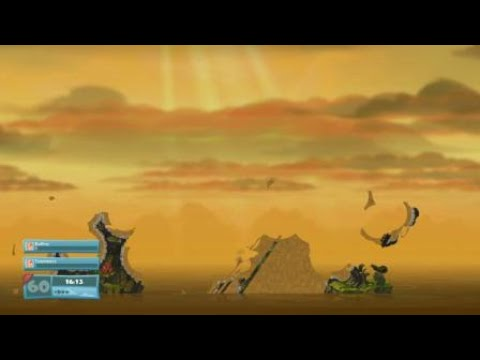 Klantsmurfan - Worms W.M.D - All weapons fast game |