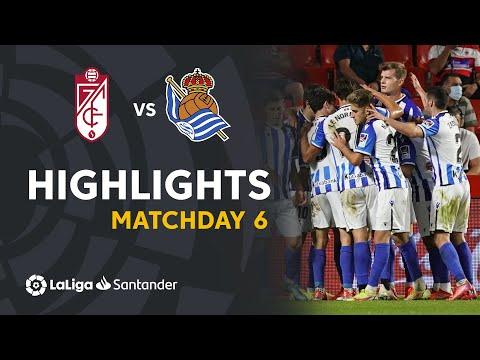 Granada Real Sociedad Goals And Highlights