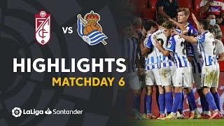 Гранада  2-3  Реал Сосьедад видео