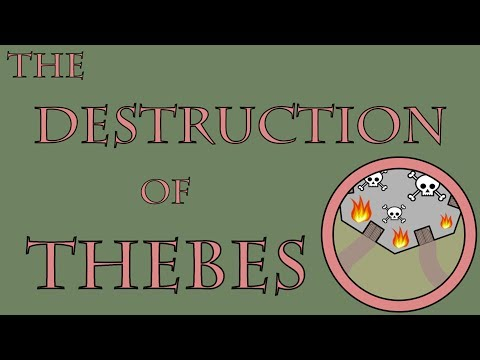 The Destruction of Thebes (335 to 334 B.C.E.)