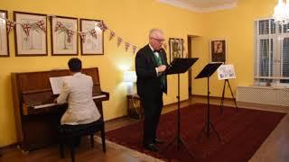 Turkmen Sahrasy - a song in Turkmen language sung by Hugh Philpott, British Ambassador at Ashgabat