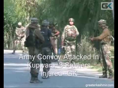 Army Convoy Attacked In Kupwara, 3 Soldiers Injured