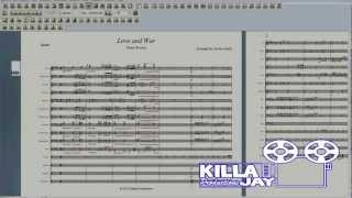 Love and War (Tamar Braxton) - Marching Band Sheet Music