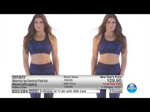 HSN | Warrior by Danica Patrick Fashions Premiere 01.04.2017 - 09 AM