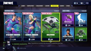 FORTNITE LIVE PRO PLAYER 861+ WINS!! FREE V-BUCKS GIVEAWAY AND FREE SKINS!! BLOCKBUSTER SKIN