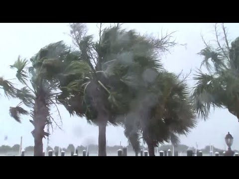 Effects from Hurricane Florence being seen in Morehead City, NC