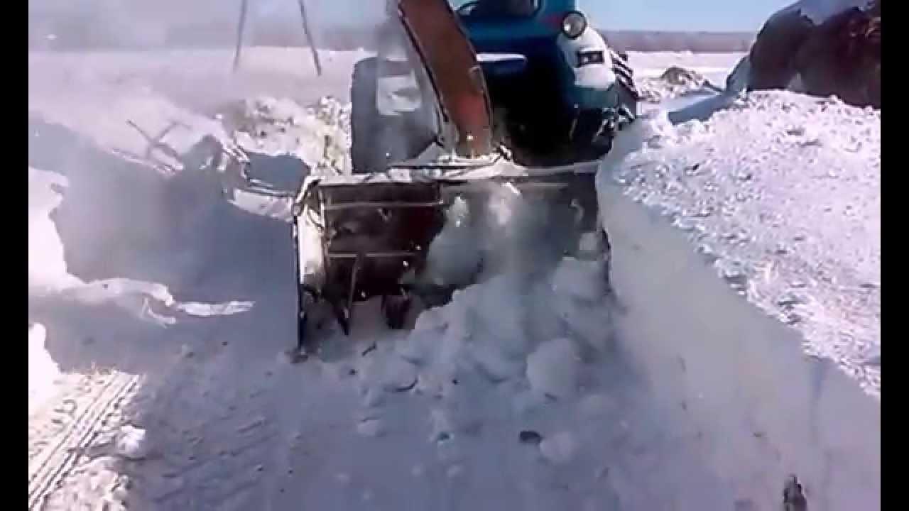 Снегоуборщик для минитрактора своими руками фото 94