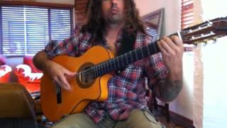 "DIO ""Rainbow in the Dark"" (acoustic)  Ben Woods on flamenco guitar"