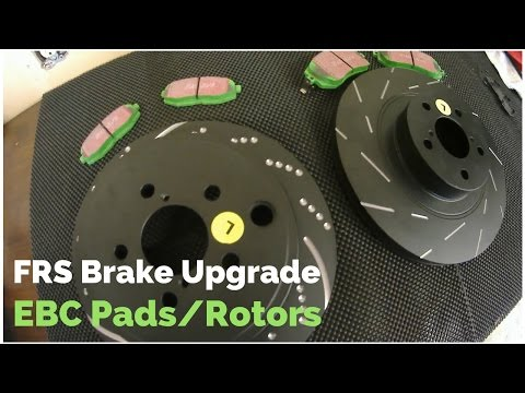 FRS/BRZ Brake Upgrade | EBC Brakes Install | Green Stuff Pads