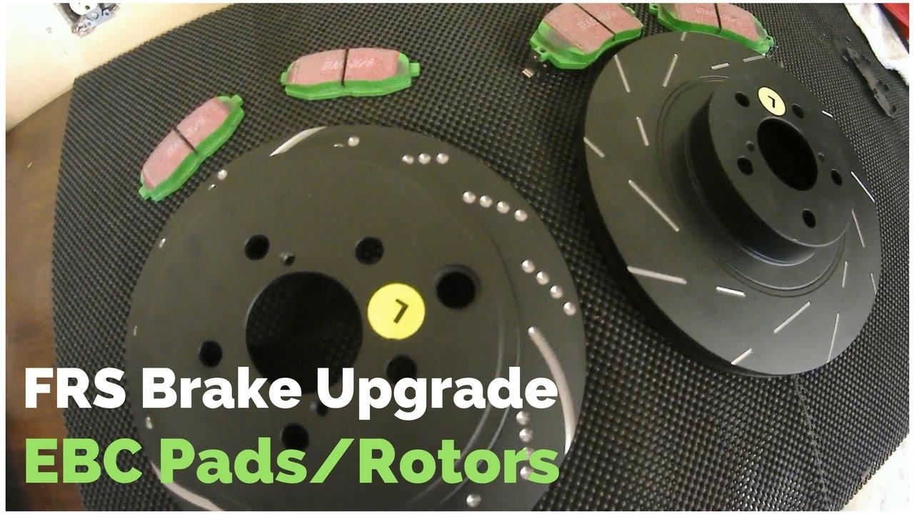 Ebc Brakes Review >> Frs Brz Brake Upgrade Ebc Brakes Install Green Stuff Pads