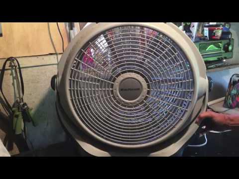 Disassemble/Clean Lasko Wind Machine 3300