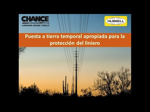 Chance® (Temporary Protective Grounding) - SPANISH from YouTube · Duration:  35 minutes 42 seconds