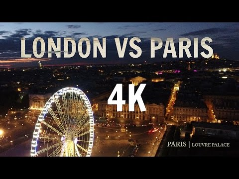 EUROPE 4K Drone Video | London, Paris, Barcelona, St.Tropez, Monte Carlo, Venezia |