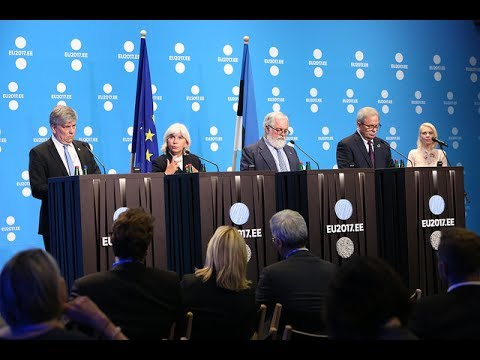 Informalmeeting of environment ministers (ENVI) – Press conference (climate)