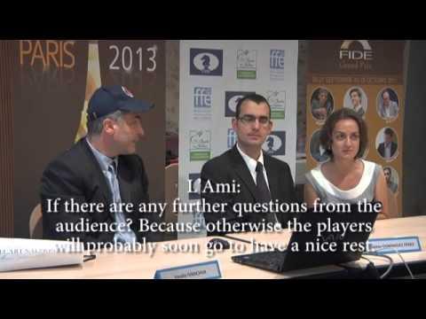 Chess News: FIDE Grand Prix in Paris   Round 1!
