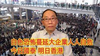 20190822 白色恐怖蔓延大企業人人自危 今日國泰 明日香港