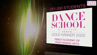 Dance School of The Year Awards 2020 - Gold Winners