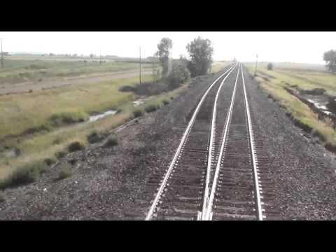 Amtrak Ride 2012: Amtrak 8 North Dakota RF Window