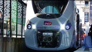 Présentation du Régiolis Alstom (Z 51500) SNCF French New Train