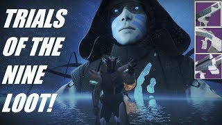 TRIALS OF THE NINE SEASON 2 FLAWLESS LOOT! Destiny 2 - Curse Of Osiris