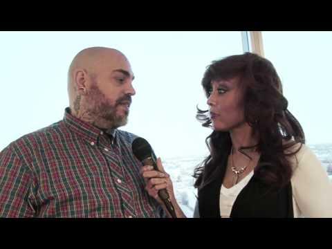 Reese Alexander at The Makeup  LA 2012 with James Vincent, Mario Dedivanovic & Elessa Jade