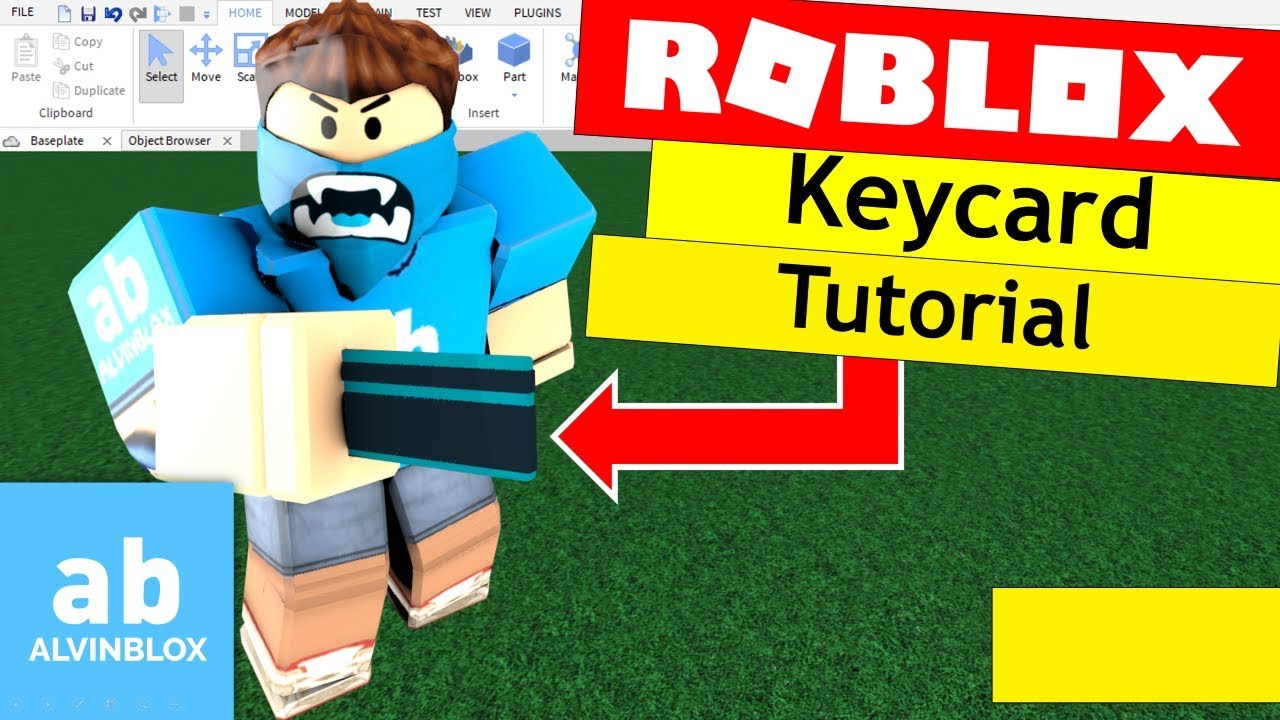 Roblox Scripting Tutorial How To Make A Keycard Door - how to bend limbs on roblox without blender read desc