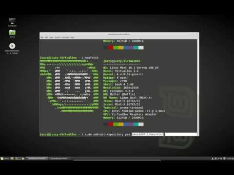Linux HUD Fun - YouTube