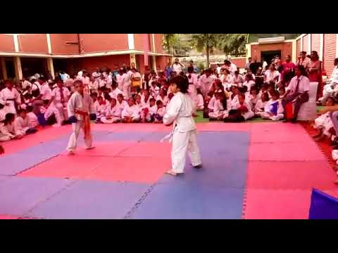 #Gurung #Karate #Academy-regd Student Harshita Bajaj North Indian Shotokan Championship 2017