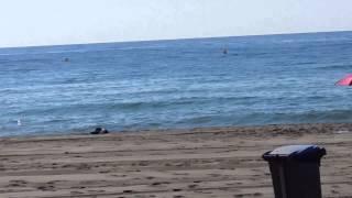 playa nudista en vera playa