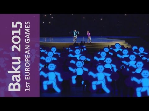 The Energy of Youth | Ceremony Kick-Off | Baku 2015 European Games