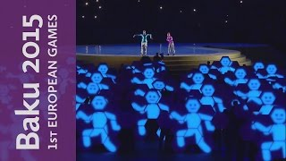 The Energy of Youth   Ceremony Kick-Off   Baku 2015 European Games