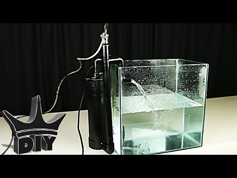 How To Aquarium Canister Filter With Inline Heater