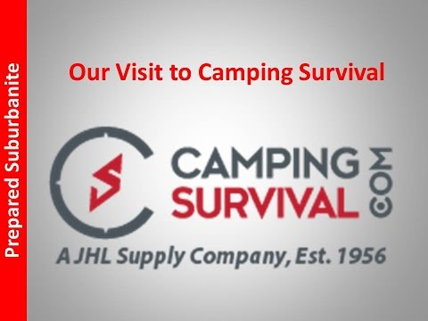 Prepping: Camping Survival in Our Backyard