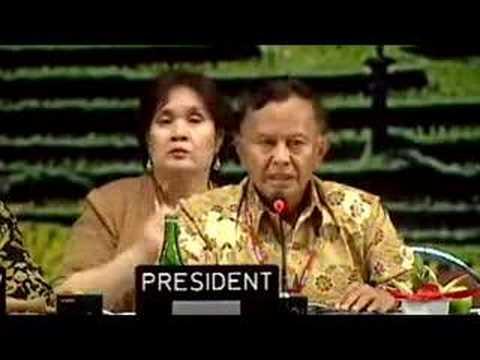 Bali climate summit final plenary / part4