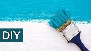 Как красить. Полезные советы при работе с краской. #стройхак.