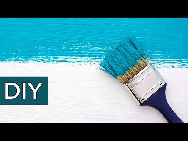 Полезные советы при работе с краской