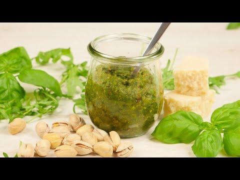 Pistazien Pesto I leckeres Pesto für Pasta und vieles mehr
