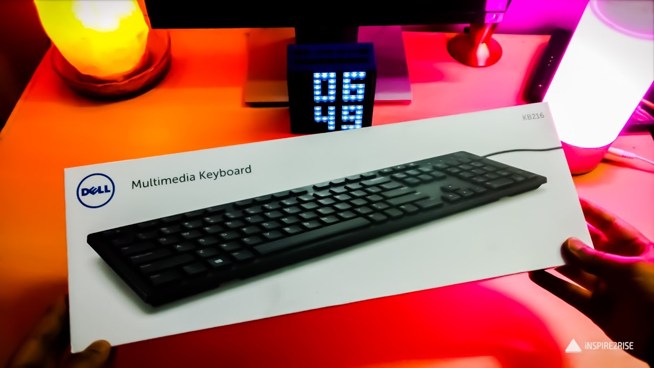Dell KB216 keyboard unboxing and review