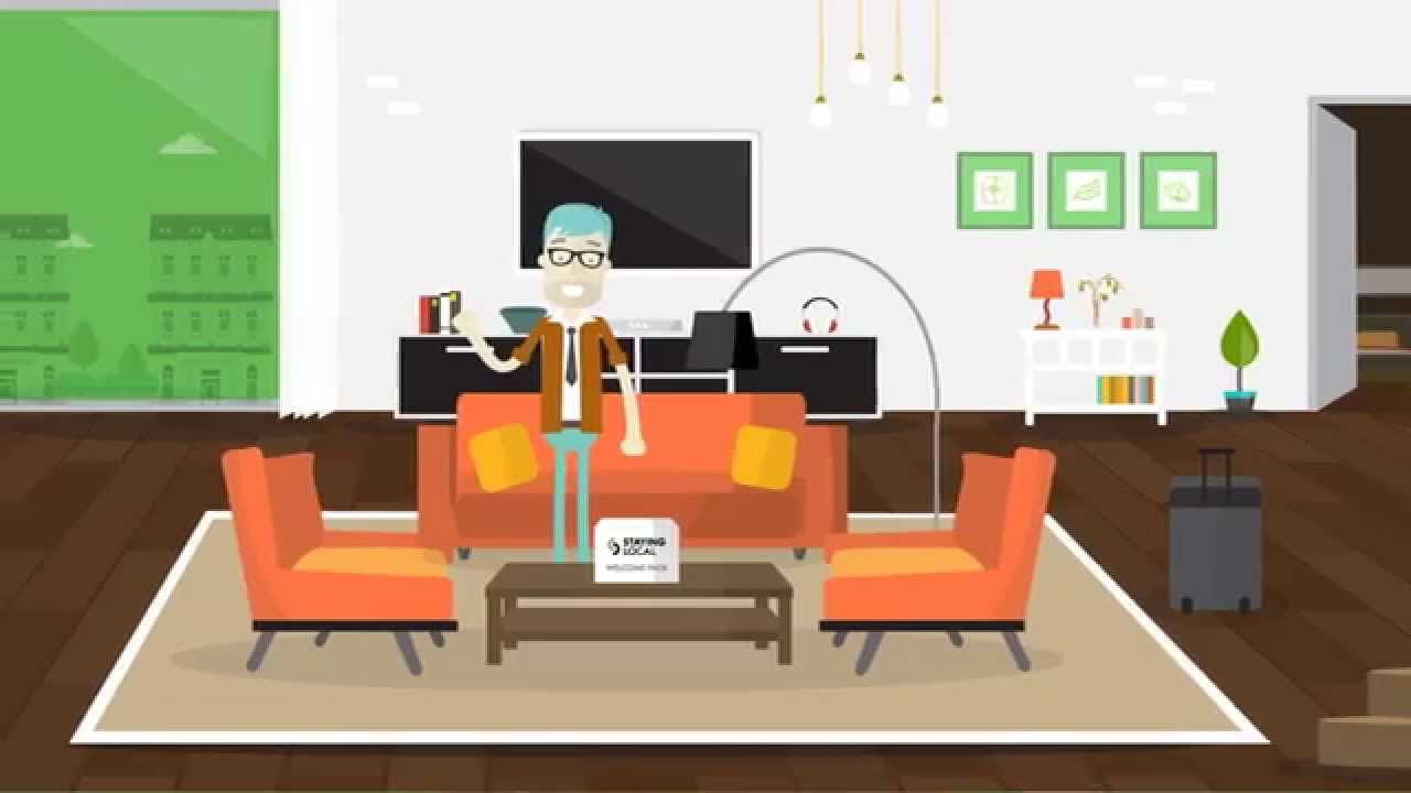 Animated Explainer Video For Staying Local