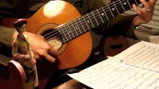 Chiều Vàng. Nguyễn Văn Khánh. Guitare Trémolo. Romantic Melancholic, circa 1944
