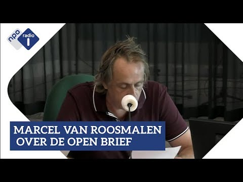Marcel van Roosmalen over de open brief | NPO Radio 1
